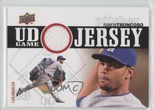 2010 Upper Deck UD Game Jersey #UDGJ-RT Ramon Troncoso Los Angeles Dodgers Card