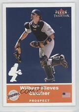 2002 Fleer Tradition Update #U72 Prospects Wil Nieves San Diego Padres Card