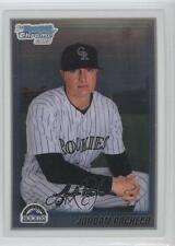 2010 Bowman Chrome Prospects #BCP135 Jordan Pacheco Colorado Rockies Rookie Card