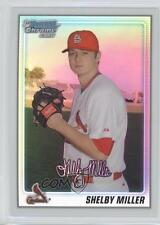 2010 Bowman Chrome Prospects Refractor #BCP204 Shelby Miller St. Louis Cardinals