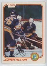 1981-82 O-Pee-Chee #301 Mike Liut St. Louis Blues Hockey Card