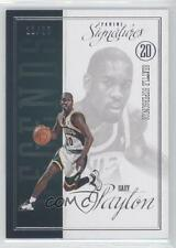 2012-13 Panini Signatures Legends #38 Gary Payton Seattle Supersonics Card