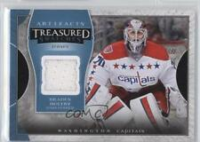 2015-16 Upper Deck Artifacts Treasured Swatches Blue #TS-BH Braden Holtby Card
