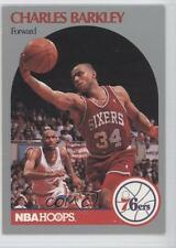 1990-91 NBA Hoops #225 Charles Barkley Philadelphia 76ers Basketball Card