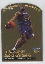 1999-00 Fleer Ultra Gold Medallion Edition #1G Vince Carter Toronto Raptors Card