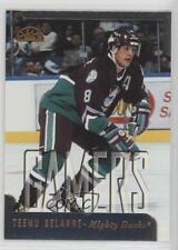 1997-98 Leaf #182 Teemu Selanne Anaheim Ducks (Mighty of Anaheim) Hockey Card