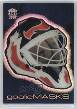 1999-00 Pacific Dynagon Ice Goalie Masks 7 Martin Brodeur New Jersey Devils Card