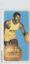 1970-71 Topps #59 Al Attles San Francisco Warriors Basketball Card