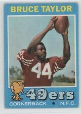 1971 Topps #239 Bruce Taylor San Francisco 49ers RC Rookie Football Card