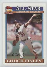 1991 Topps Operation Desert Shield #395 Chuck Finley Los Angeles Angels Card