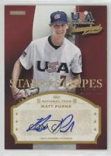 2013 Panini USA Baseball Champions PRK Matt Purke Team (National Team) Auto Card