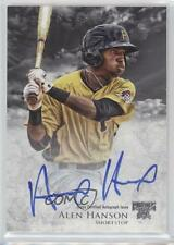 2013 Bowman Inception Prospect Autographs #PA-AH Alen Hanson Auto Baseball Card