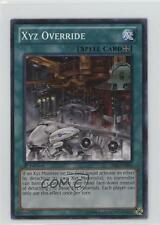 2014 Yu-Gi-Oh! Legacy of the Valiant #LVAL-EN068 XYZ Override YuGiOh Card