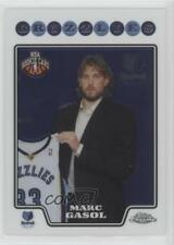 2008-09 Topps Chrome #212 Marc Gasol Memphis Grizzlies RC Rookie Basketball Card