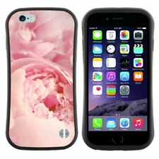 Anti-Shock Tpu Case Bumper Cover For Apple iPhone Closeup of flowers peony