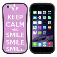 Anti-Shock Tpu Case Bumper Cover For Apple iPhone keep calm and carry on