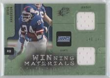 2009 SPx Winning Materials Dual Green #W-OA Ottis Anderson New York Giants Card