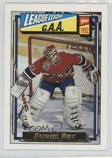 1992-93 Topps Gold #110 Patrick Roy Montreal Canadiens Hockey Card