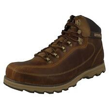Mens Caterpillar Boston Desert Leather Lace Up Ankle Boots HIGHBURY