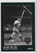 1995 Megacards The Sporting News Conlon Collection #1405 Babe Ruth Baseball Card
