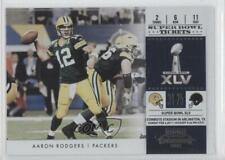 2011 Playoff Contenders Super Bowl Tickets #1 Aaron Rodgers Green Bay Packers