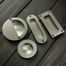 Stainless Flush Recessed Door Pull Handle Satin or Polished Stainless Steel