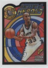 2000 Topps Gallery of Heroes GH6 Stephon Marbury New Jersey Nets Basketball Card