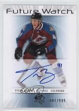 2012-13 SP Authentic #215 Tyson Barrie Colorado Avalanche RC Rookie Hockey Card