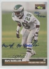 1995 Classic Pro Line Autographs #MAMC Mark McMillian Philadelphia Eagles Auto