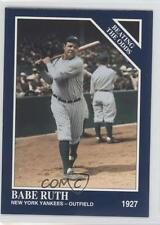 1994 The Sporting News Conlon Collection #888 Babe Ruth New York Yankees Card