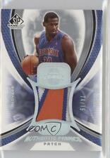 2005 SP Game Used Edition Authentic Fabrics Jersey Patch #AFP-AM Antonio McDyess