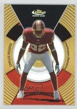 2005 Topps Finest Gold Refractor #146 Carlos Rogers Washington Redskins Card