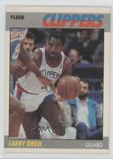 1987-88 Fleer #29 Larry Drew Los Angeles Clippers Basketball Card