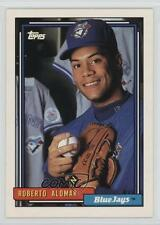 1992 Topps #225 Roberto Alomar Toronto Blue Jays Oakland Athletics Baseball Card