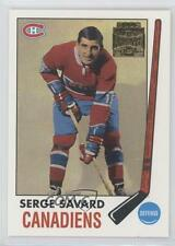 2001-02 Topps/O-Pee-Chee Archives 53 Serge Savard Montreal Canadiens Hockey Card