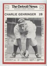 1981 Detroit News Tigers Boys of Summer 100th Anniversary #14 Charlie Gehringer