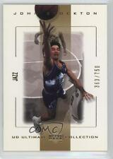 2000-01 UD Ultimate Collection #56 John Stockton Utah Jazz Basketball Card