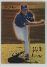 1995 Select Certified Edition Gold Mirror #16 David Cone New York Yankees Card
