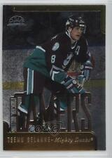 1997-98 Leaf Fractal Matrix #182 Teemu Selanne Anaheim Ducks (Mighty of Anaheim)