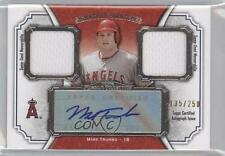 2012 Topps Museum Collection #SSADR-MT Mark Trumbo Los Angeles Angels Auto Card
