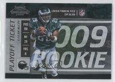 2009 Playoff Contenders Ticket #120 LeSean McCoy Philadelphia Eagles Rookie Card