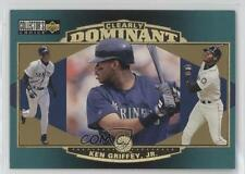 1997 Upper Deck Collector's Choice Clearly Dominant #CD4 Ken Griffey Jr Jr. Card