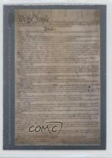 2006 Topps Chrome #SDC-WTP Constitution for the United States Baseball Card