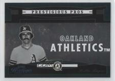 2005 Playoff Prestige Prestigious Pros Green #PP-74 Rollie Fingers Baseball Card