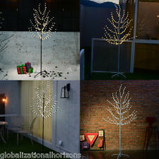 NEW 200 LED 6FT Glowing Branches Christmas Tree Fairy Lights Cherry Blossom Lamp