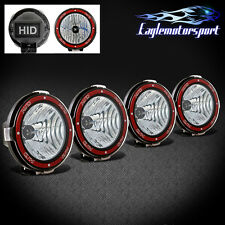 """4x7"""" Built-in 6000K Xenon HID 4x4 Off Road Light Fog Driving Lamp for SUV/Truck"""