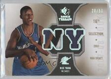 2007-08 SP Rookie Threads Photo Shoot Materials Patch #RT-NY Nick Young Card