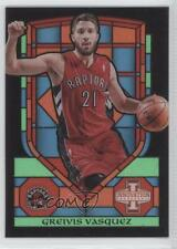 2013-14 Panini Innovation Stained Glass #22 Greivis Vasquez Toronto Raptors Card