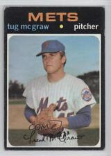 1971 Topps #618 Tug McGraw New York Mets Baseball Card