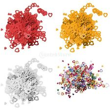 Assorted Hollow Hearts Wedding Confetti Table Decoration Scatter Sprinkles new